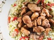 Рецепта Сувлаки / шишчета със свинско месо от врат печено на скара